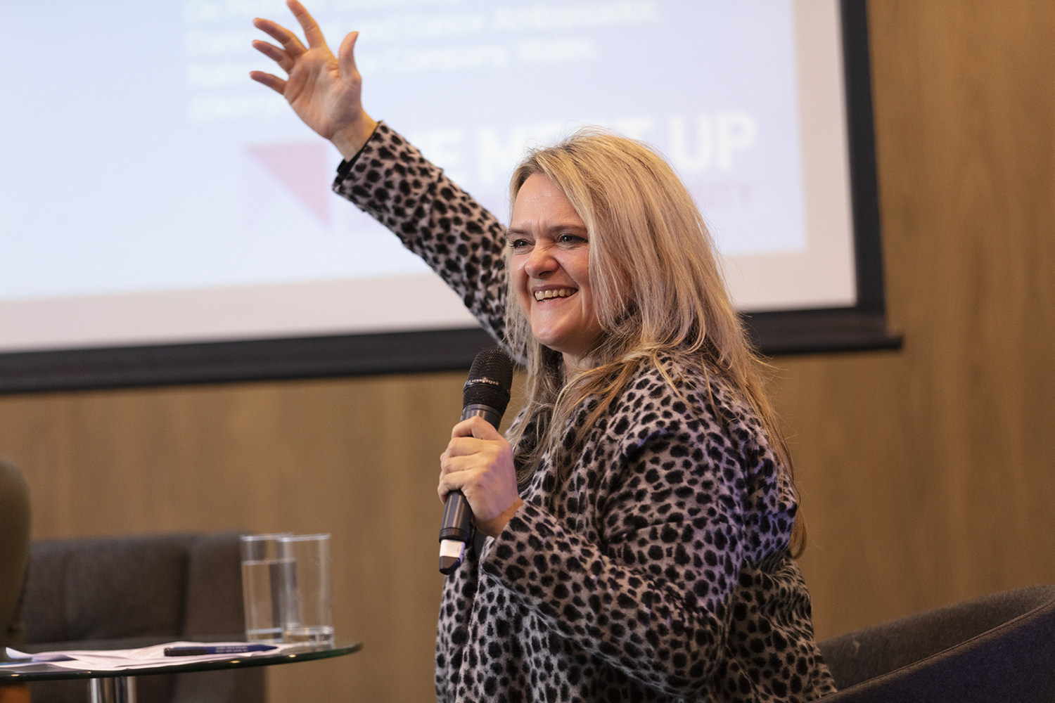 Donna Close at The Meet Up 2019. Photo credit: Electric Egg